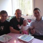 My med sine onkler og sin far